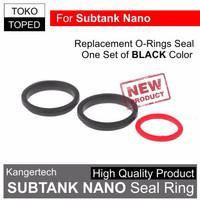 Jual  K05  SUBTANK NANO BLACK Seal Rings Set | o-ring kangertech subox vapo Murah