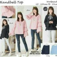 Handbell Top / Blouse / Baju Atasan Wanita / Ootd / Casual / Hijab / T