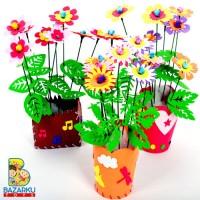 Jual Mainan Edukasi Artcraft DIY Flowers Mainan Edukasi Montessori Artcraft Murah