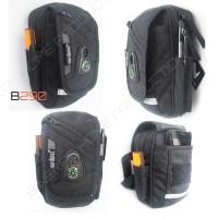 Harga tas handphone selempang dan pinggang with raincover hitam 6 | Pembandingharga.com