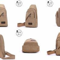 Jual Tas Selempang Bodypack / Men Sling Shoulder Bags / Tas Army Murah