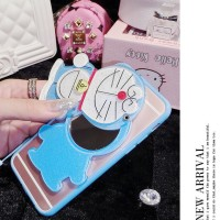CASING CUTE 3D SAMSUNG J7 PRIME/ON7 SOFT MIRROR MAKEUP CARTOON SILICON