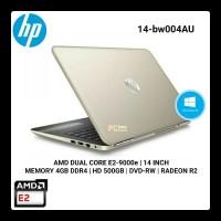 Laptop HP 14-bw003AU / 14-bw004AU - AMD E2 - 4GB RAM Windows 10