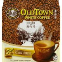 OLDTOWN White Coffee 3in1 Cane Sugar - Kopi Putih Premix Instan Old To