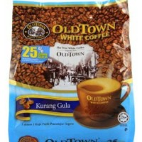 Jual OLDTOWN White Sugar 3in1 Less Sugar - Kopi Putih Premix Instan Old Tow Murah