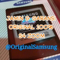ORIGINAL 100% Baterai Batre Battery Samsung S4 Zoom C1010 - B740AE