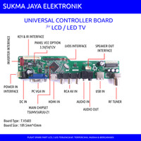 LCD/LED TV Universal Controller Board