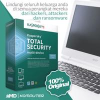 Kaspersky Total Security / Pure Latest Version 1 Pc 1 Tahun