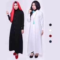 KP3799 Long Shirt Dress Hijab Style DS819 KODE TYR3855