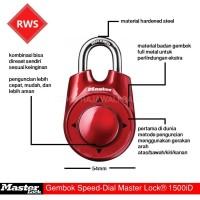 Jual Gembok Speed Dial Master Lock 1500iD Murah