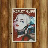 Poster Quotes / Wall Art + Bingkai Kayu Harley Quinn