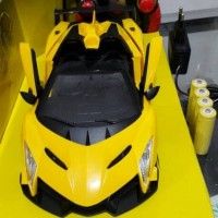 Mobil Lamborghini 1:18 Remote Control ,Top Speed ,Baterai Charge