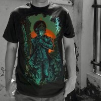 Culture Hero | Kaos Distro Keren Budaya Indonesia: The Hitman