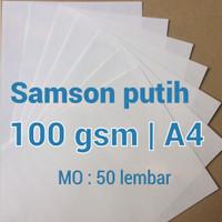 Jual samson putih | bleached | impor | paper | bag | craft Murah