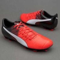 Sepatu Bola Original Puma Evopower 3.3 FG Merah