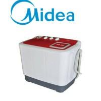 Midea MTE86-P701Q Mesin Cuci 2Tabung Semi Auto Washer Kap 8Kg Garansi