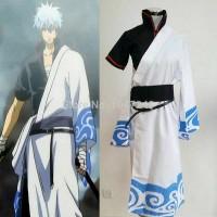 Fullset Gintoki Gintama Costume Wig