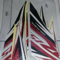 striping yamaha R15 putih merah 2014
