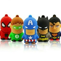 Jual Flashdisk Karakter Superhero dan Minion 16 GB Murah