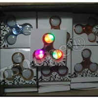 Jual spiner led, spiner nyala,spinner metalic,spinner led 3 lampu Murah