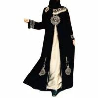 Jual gamis abaya bordir turky plus pasmina Murah