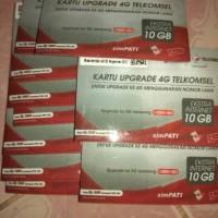 Kartu Upgrade Telkomsel 4G OTA satuan harga grosir