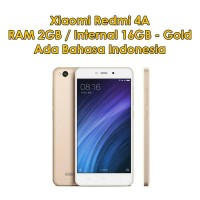 HP XIAOMI REDMI 4A 2GB/16GB NEW GOLD