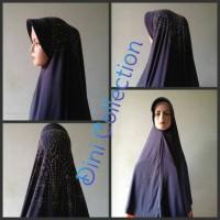Jual Khimar Jilbab instan bergo kerudung syar'i pet antem spandek mahkota Murah
