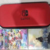 sewa rental nintendo switch + 2 kaset (Tarif Per Minggu)