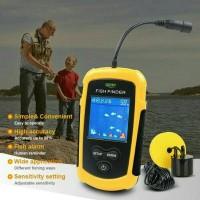 Sonar pencari ikan 100M lcd warna /GPS Alarm fishing /colour fish fn