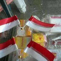 Jual Bendera Tempel Merah Putih Sepasang Murah