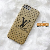 louis Vuitton gold case casing vivo v5 redmi 4 prime iPhone 5 6 7 plus