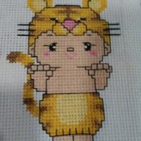Hasil cross stitch