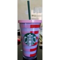 Starbucks Cold To Go Cup Stripes Bando Ban.do Grande Tumbler