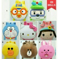 Jual TAS RANSEL BONEKA ANAK BACKPACK DORAEMON HELLO KITTY Murah