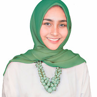 Kalung Fashion Candy Color Beads Trendy Hijab Terbaru Simple ZPN006