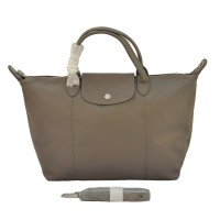 TAS BRANDED WANITA AUTHENTIC LONGCHAMP LE PLIAGE CUIR MEDIUM ORIGINAL
