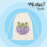 Tas Serut / Drawstring Blacu |Tribal Tumblr