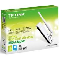 TL-WN722N 150M Wireless Lite-N USB Adapter, Atheros, 2.4GHz, 802.11n