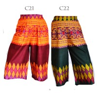 Jual Kulot Bawahan Celana Batik Songket C21C22 Murah