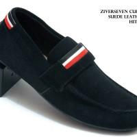 Sepatu Ziverseven Curve Suede Leather