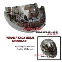 harga Visor / Kaca Helm Modular Snail, Ink, Airoh Warna Silver Tokopedia.com