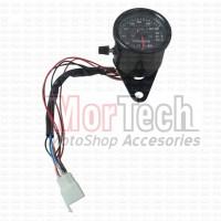 Speedometer - Spedometer Jarak Tempuh + Indikator Vario CW Hitam