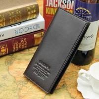 Dompet Kulit Pria Model Clutch (hitam),
