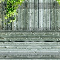 Alas foto lipat 2 motif kayu daun A3+ kode: RM1024 (aksesoris kamera)
