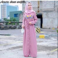 Pakaian Wanita/ Dress Amore Muslim/ Trendy/ Kekinian
