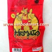 Jual Khusus GOJEK-GOSEND - Daging Burger Hemato isi 10 pcs Murah