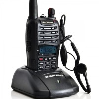 Radio Walkie Handy Talky HT BAOFENG POFUNG UV-B6 Dual Band VHF black