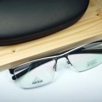 Frame Kacamata Baca Metal Adidas A629 6190 Silver Bagus Terbaru Keren