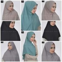 Jilbab Instan Shejab Syria Airin - Hijab model Syria yang Simple